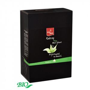 Sirop Nera Plant BIO de patlagina cu menta, 3L