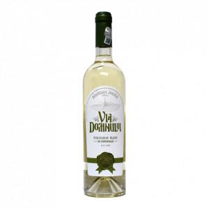 Vin Sauvignon Blanc sec - 2018, Via Domnului - Manastirea Jercalai, 0,75l
