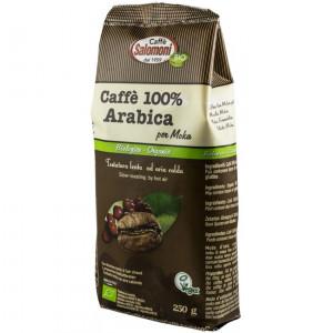 CAFEA BIO 100% ARABICA, 250G SALOMONI