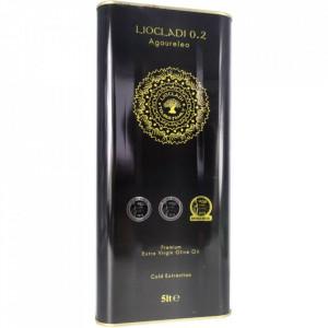 Ulei de măsline extravirgin presat la rece, aciditate 0.2%, 5 L