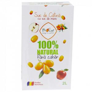 Suc de catina cu mere - 2L - Biocat