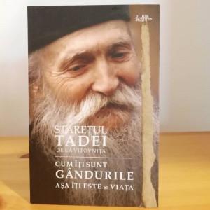 COPERTA DETERIORATA -Cum îți sunt gândurile, așa îți este și viața - Tadei, staretul manastirii Vitovnita