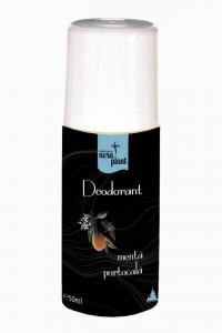 Deodorant Nera Plant cu menta si portocala, 50ml