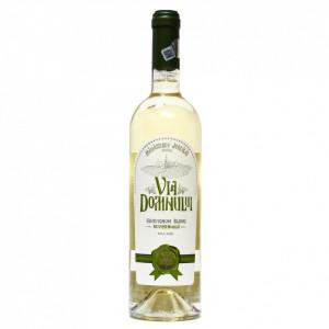 Vin Sauvignon Blanc demisec - Via Domnului - Manastirea Jercalai, 0,75l