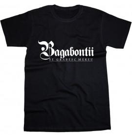 """Tricou """"Bagabontii"""" + album gratuit"""