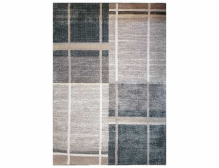 Tepih Luxor - W6141 Bež - Siva
