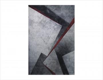 Tepih Diamond - 22332-950 Siva / Crvena