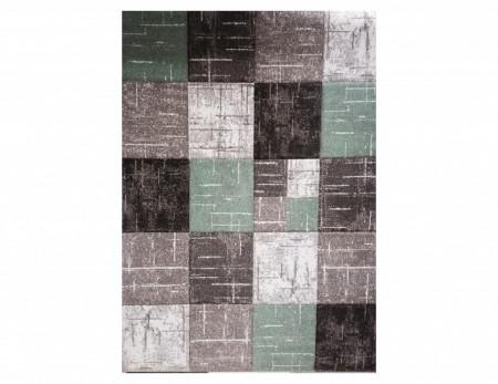 Tepih Diamond - 20762-740 Braon - Zelena