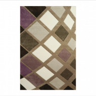 Tepih Diamond 21668-750 Lila / Bež
