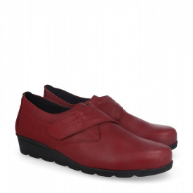 Pantofi din piele naturala AMALIA Red