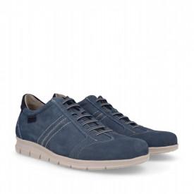 Pantofi din piele naturala LAROCHE Blue