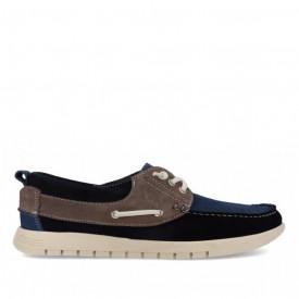 Pantofi sport din piele naturala ERIC Marino