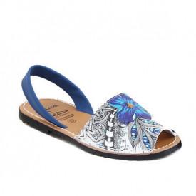 Sandale de dama din piele naturala, AVARCA FIESTA