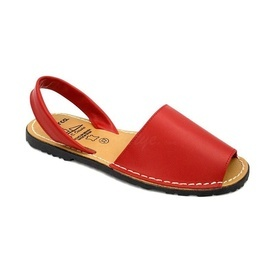 Sandale din piele AVARCA CLASIC Red