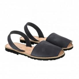 Sandale din piele intoarsa AVARCA MINORQUINES Bleumarin