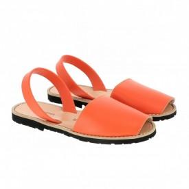 Sandale din piele naturala AVARCA MINORQUINES Orange