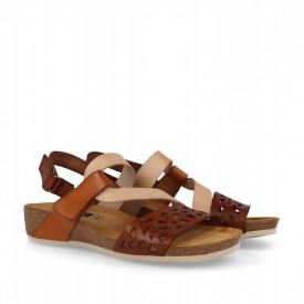 Sandale din piele naturala RIVIERA Natural