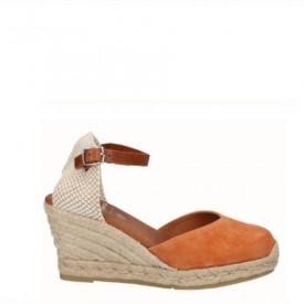 Sandale din piele naturala SAMBA Coral