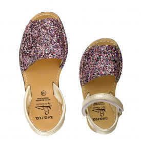 Set mama-copil sandale AVARCA Glitter Multicolor