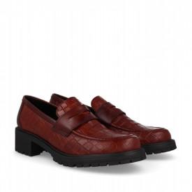 Pantofi din piele naturala SITA Brown