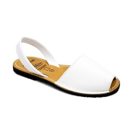 Sandale din piele AVARCA CLASIC White
