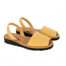 Sandale din piele AVARCA MINORQUINES Gel Golden