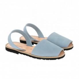 Sandale din piele intoarsa AVARCA MINORQUINES Jeans