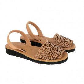 Sandale din piele MINORQUINES Gel LASER Natural