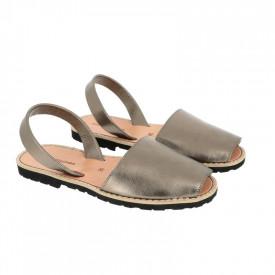Sandale din piele naturala AVARCA MINORQUINES Metal Bronz