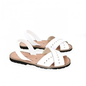 Sandale din piele naturala AVARCA MINORQUINES ROCK White
