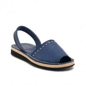 Sandale din piele naturala AVARCA RIM Marino
