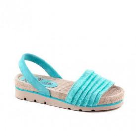 Sandale din piele naturala RIOT Turcoise