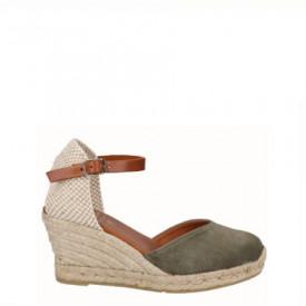 Sandale din piele naturala SAMBA Khaki