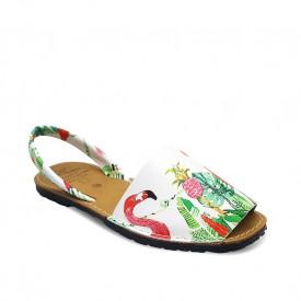 Sandale de dama din piele naturala, AVARCA FLAMINGO