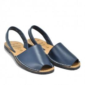 Sandale din piele AVARCA CLASIC Marino