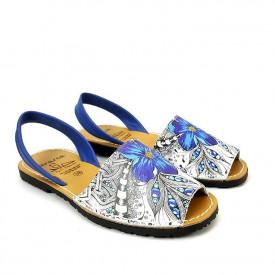 Sandale din piele naturala, AVARCA FIESTA