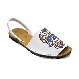 Sandale din piele naturala, AVARCA MEXIC