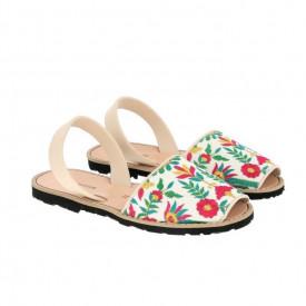 Sandale din piele naturala AVARCA MINORQUINES Menorca Print