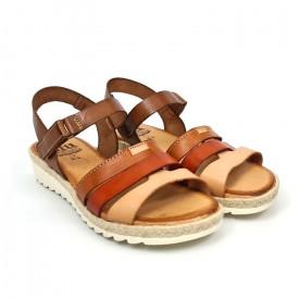 Sandale din piele naturala MARIELA Natural