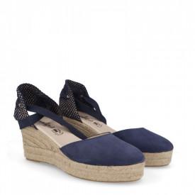 Sandale din piele naturala NIRVANA Blue