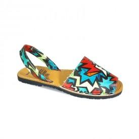 Sandale de dama din piele naturala, AVARCA SHAPES