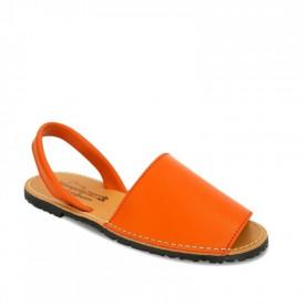 Sandale din piele AVARCA CLASIC Orange