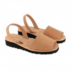 Sandale din piele AVARCA MINORQUINES Gel Natural