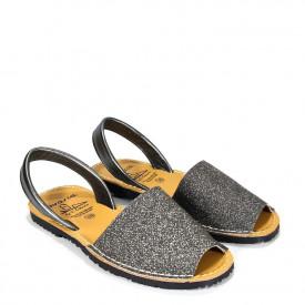Sandale din piele AVARCA SAND Plumb