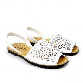 Sandale din piele AVARCA SPRING White