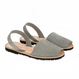 Sandale din piele intoarsa AVARCA MINORQUINES Grey