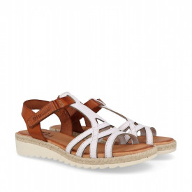Sandale din piele naturala ATILA White