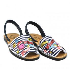 Sandale din piele naturala, AVARCA CARTOON