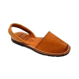 Sandale din piele naturala, AVARCA COLOUR POP Camel