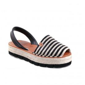 Sandale din piele naturala AVARCA MARINA